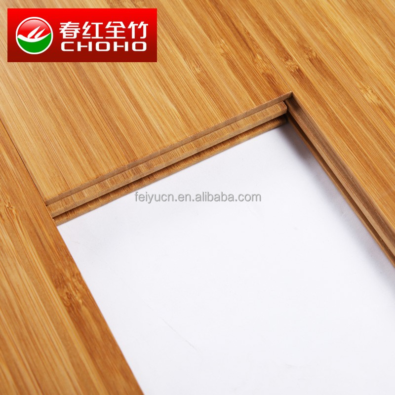 Natural vertical unfinished bamboo bambu floorings/CHOHO/CE/Jiangxi