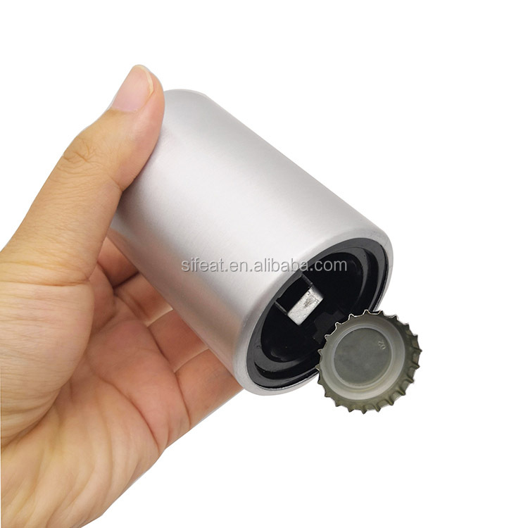 Push down Magnet Automatic Metal Beer Bottle Opener