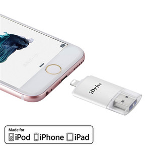 For iphone USB iflash idrive with 32GB, 64GB, 128GB high capacity for mobile phones