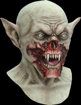 best welcomed zombie scary rubber bald head vampire mask