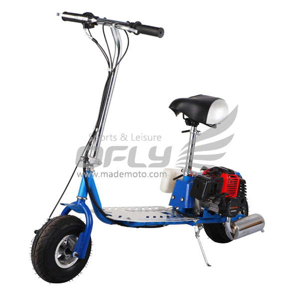 China CE folding 43cc mopeds cheap petrol scooter