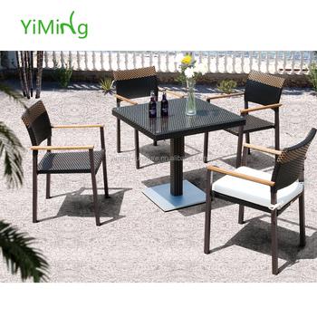 Tavoli E Sedie Per Ristoranti Da Esterno.Giardino Tavoli E Sedie Per Ristorante Rattan Outdoor Mobili Da