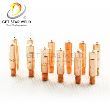 Get Star Weld welding copper contact tips M6*25 contact tips for 15AK torch