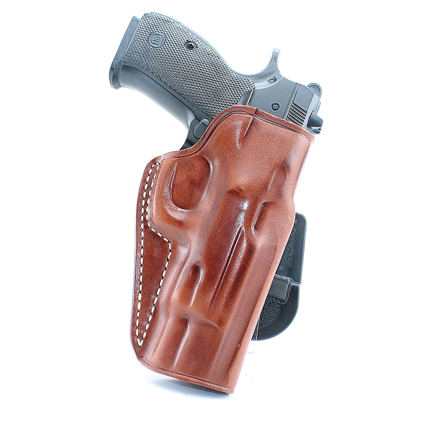 Buy LEATHER PADDLE HOLSTER (OWB) OPEN TOP FOR FN FNX 9, FN FNX 40,FN