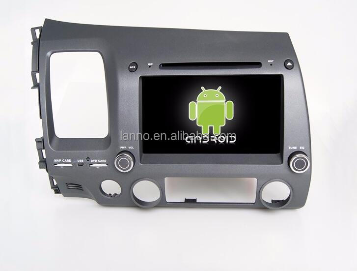 car dvd player for Honda old C IVIC for left gps system 8'' android 2 din car gps navigation OBD2 Playstore car radio