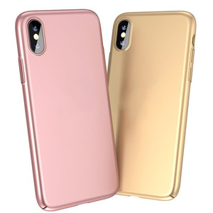 For iPhone X Super Thin Case Hard PC Plastic Cell Phone Cases for iPhone 10