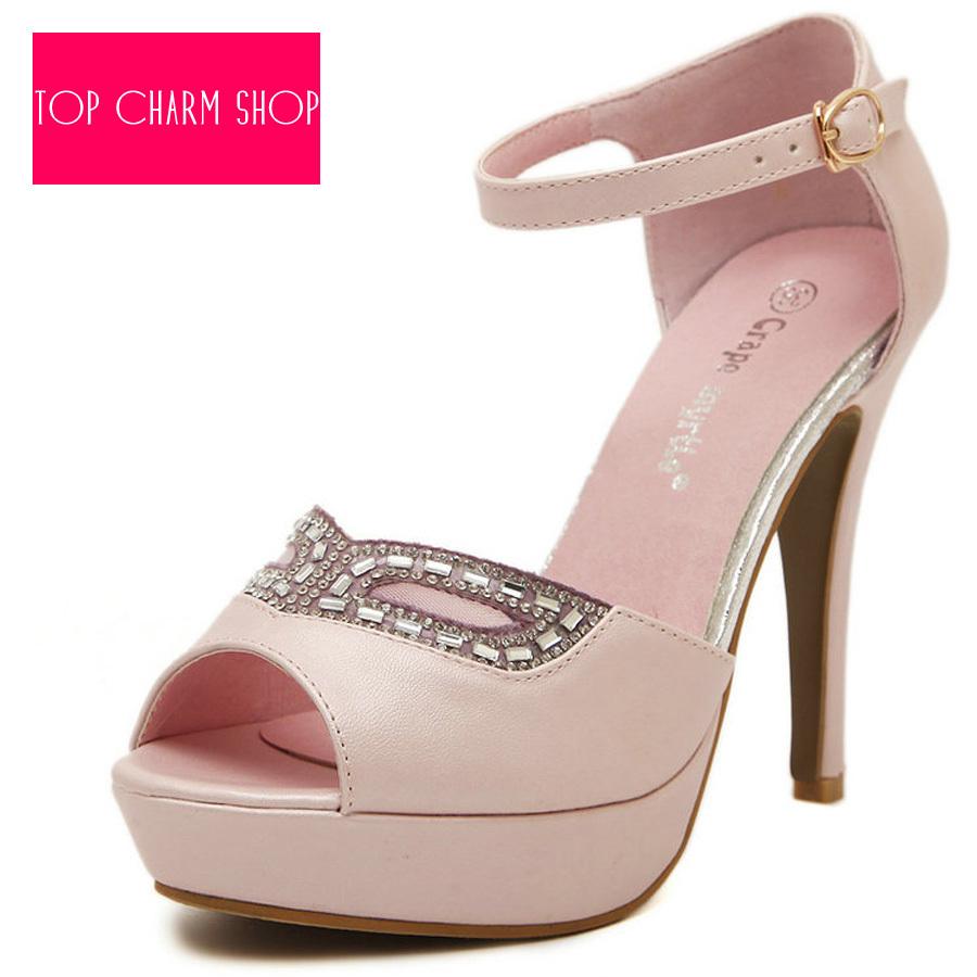Buy New Arrived Vogue Women Sandals 2015 Classic Dancing High Heel