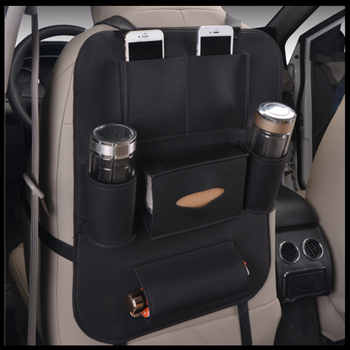 Truck Seat Organizer >> Pu Leather Easily Clean Truck Seat Back Organizer For Car Buy