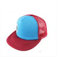 Wholesale custom embroidery neon mesh snapback trucker hats