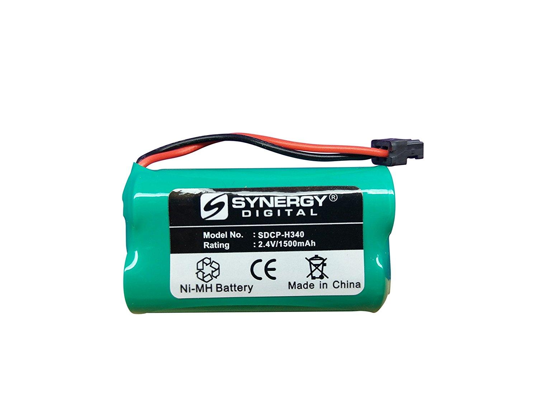 Panasonic PQHHR150AA21 Cordless Phone Battery Ni-MH, 2.4 Volt, 1500 mAh - Ultra Hi-Capacity - Replacement for Panasonic HHR-P506 Rechargeable Battery