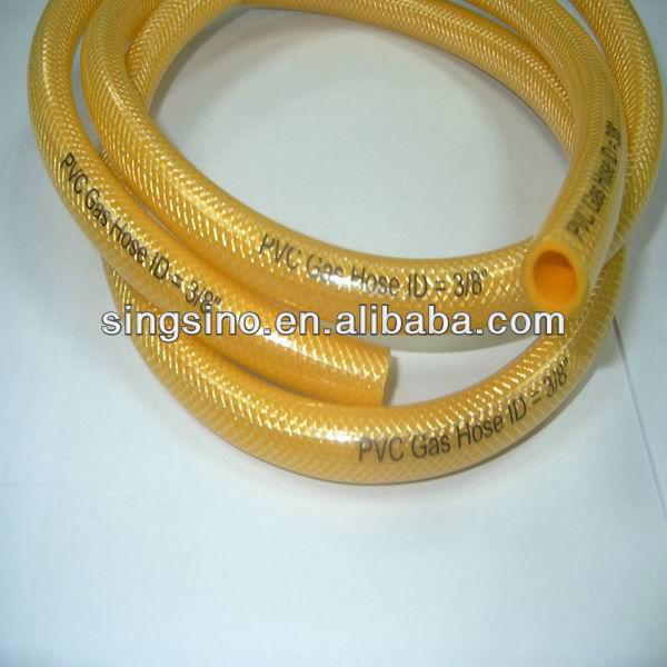 pvc gas hose pipe flexible pvc gas pipe propane gas hose