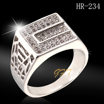 Wholesale Men White Gold Ring Price In Pakistan Hr234 Buy White