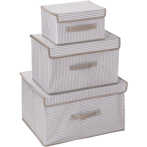 Foldable Nonwoven Fabric Storage Box