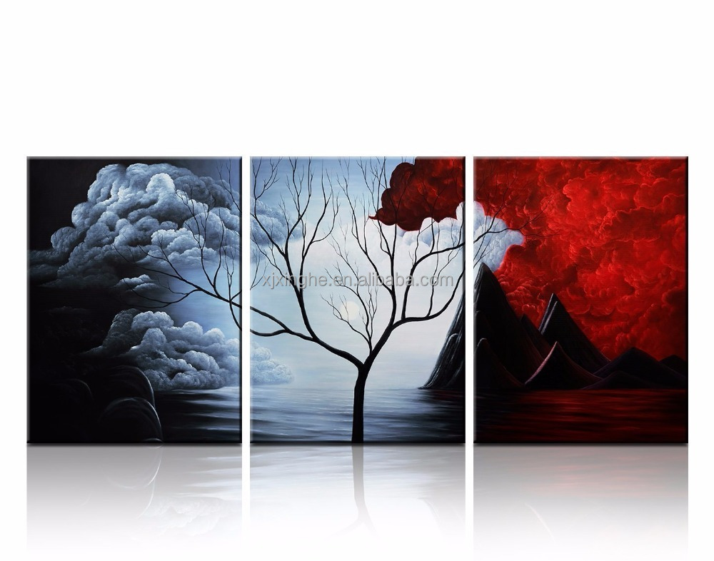 12x16inch Wooden Canvas picture frame for Wall Decor in Landscape Paintings