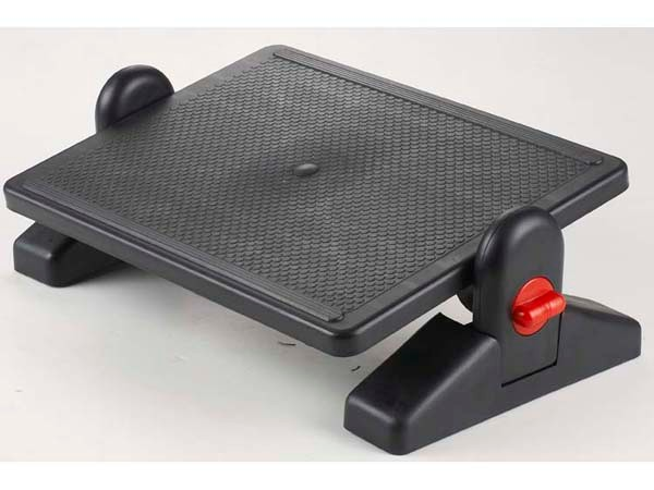 Cixi Dujia footrest with 18 years manufacturer experience factory supply ergonomic design office plastic F6033 foot rest