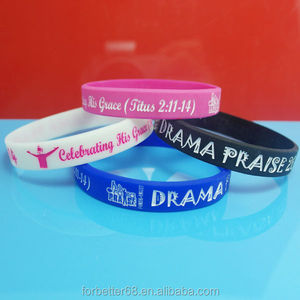 custom painted color silicone bangles