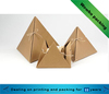 special shaped kraft paper packaging box for sweet with string decoration
