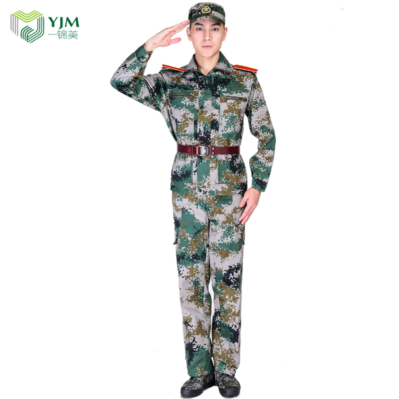 Factory custom camouflage military uniform wholesale student training clothes