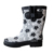 Women fashion  printed waterproof rain boots