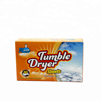 nonwoven fabric softener dryer sheets