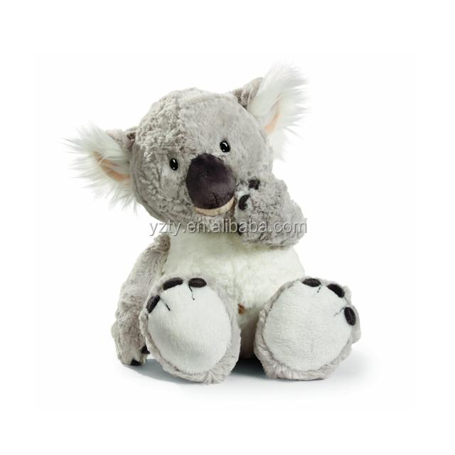 Grey Color Australia Koala Bear Plush Toy Plush Koala Stuffed Animal
