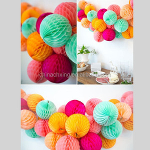 paper, Material and Wedding Decoration & Gift Use paper honeycomb balls for Germany