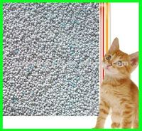 eco-friendly high adsorption dust free 5% blue or pink 1-8mm crystal 3.8L clumping silica gel cat litter