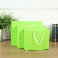 2019 Cheap Printed Kraft Paper Bags for Shopping