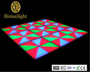 Wedding Disco DMX Dance Floor Tile Disco/Nightclub Stage Light RGB Led Dance Floor