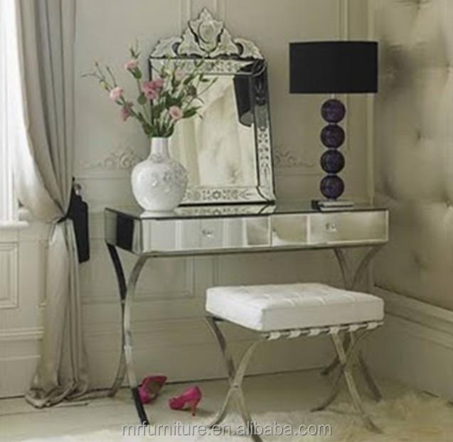 Mr-401005 Shenzhen Modern Bedroom Vanity / Mirrored Vanity - Buy Mirrored  Vanity Set,Bedroom Vanity Cheap,Luxury Bedroom Vanities Product on ...