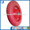 Yinzhu manufacturer 13 inch environmental red flat free scooter wheel 3.00-8