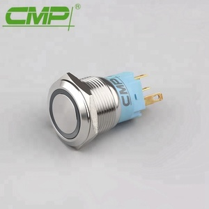 19mm Stainless Steel SPDT Push Button Micro Switch Waterproof