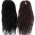 24 inches black synthetic crochet braiding hair