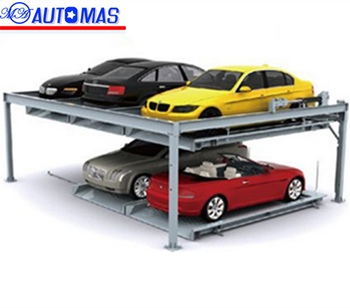 Hydraulic Two Layers Lifting And Moving Mechanical Car Parking Lift Garage Kits For Smart