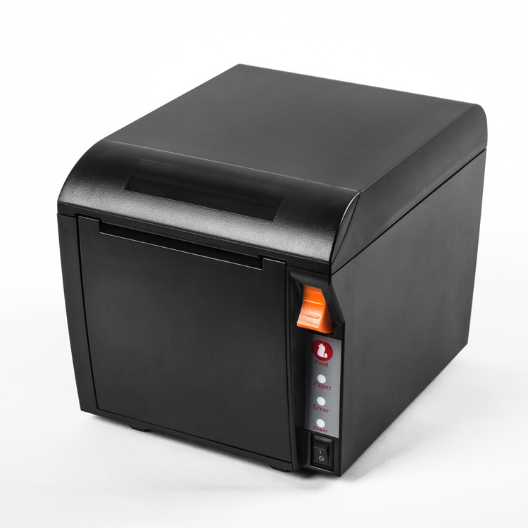 80mm thermal pos receipt printer 3 inch Wifi cloud printer paper out front