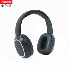 Cheap blue tooth headphone wireless headset with SD card FM radio