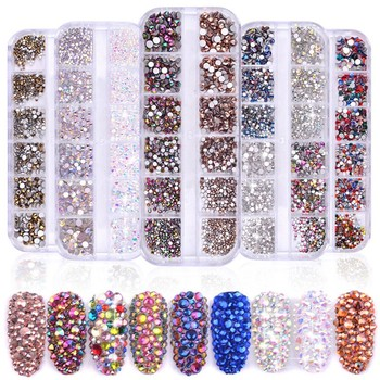 Shininglife Brand Best Sell Oem Rhinestone Design New Fashion Rhinestones Nail Art Buy Nail