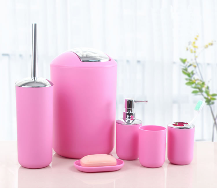 Pink And Grey Bathroom Accessories China Whole Alibaba