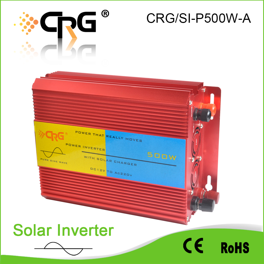 wholesale <strong>dc</strong> 12v to ac 220v off grid 500w pure sine wave solar power inverter with pwm controller for solar power systems