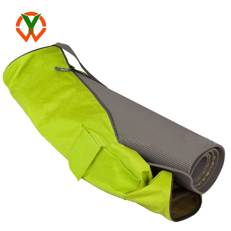 Wholesale Custom Portable Waterproof Nylon Yoga Mat Bag