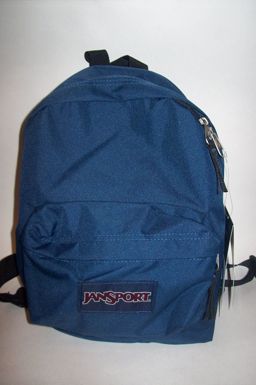 0176a39d7637 Get Quotations · Jansport Small Fry Navy (Half Pint) Junior Backpack