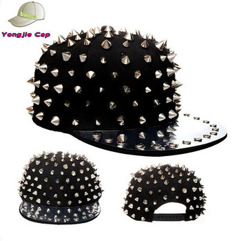 Popular Young People Spiked Snapback Caps - Buy Baseball Cap ... a42891fc820