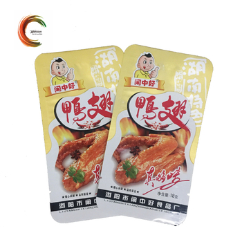 non toxic material fish vacuum aluminum foil pouch with customized printing