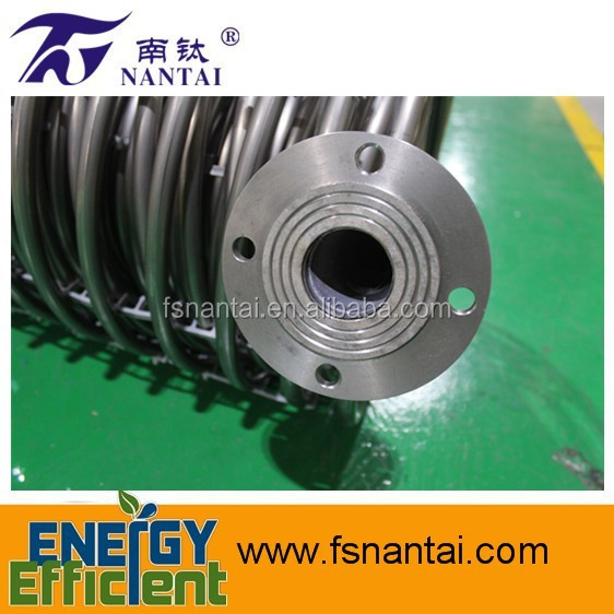 Heat Exchanger 304 Stainless Steel Coil Pipe with Flange for Water Tank