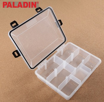 PALADIN Wholesale 9 Compartments Plastic Fishing Tackle Boxes / Organizers / Containers