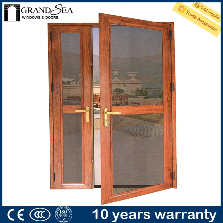 Powder coated aluminum framed crown mosquito net for home