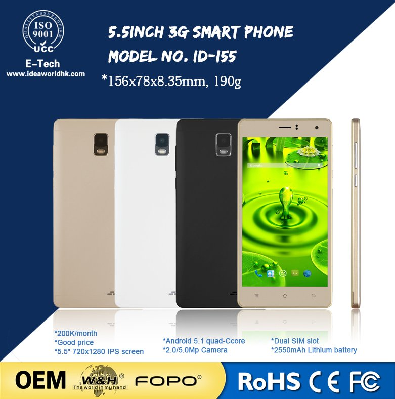 3G Smart Phone 4 - 6inches, 4G Smart Phone 5 - 6 inches, Cheap & High Quality, Promotion Price Hot Sale