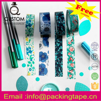 Party supply washi tape ideas for walls for gift packaging