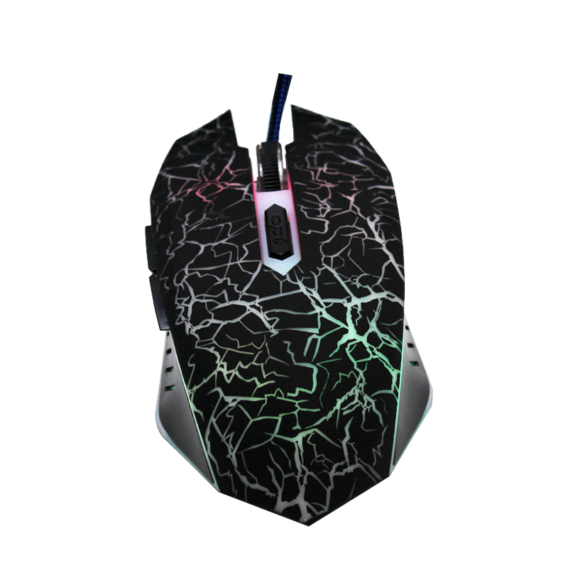 Best Selling Promotional Price 1600 DPI Wired Gaming Mouse For Computer For Apple Laptop