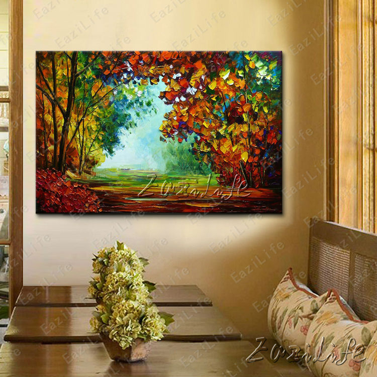 hand painted canvas oil paintings wall pictures for living room wall decor art canvas painting. Black Bedroom Furniture Sets. Home Design Ideas